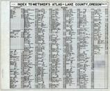Index, Lake County 1958